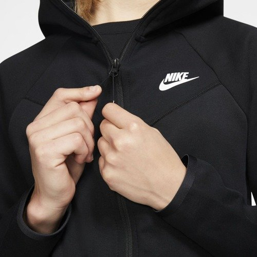 BLUZA DAMSKA NIKE NSW WINDRUNNER TECH FLEECE CZARNA BV3455-010