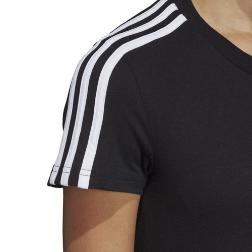 KOSZULKA DAMSKA ADIDAS ESSENTIALS 3-STRIPES SLIM TEE DP2362
